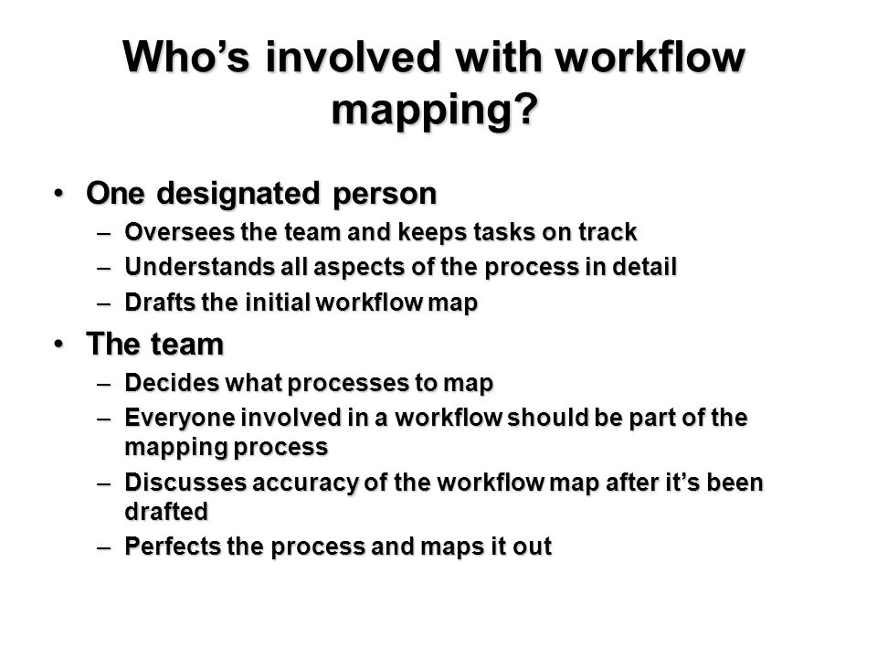 workflow mapping a tool for achieving meaningful use ppt download