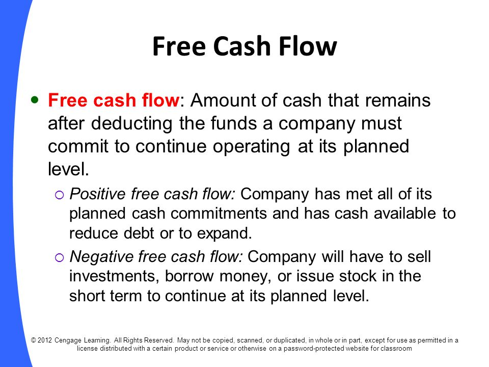 fin 370 why should caledonia focus on project free cash flows as Should caledonia focus on cash should caledonia focus on cash flow or accounting profits in making its capital-budgeting decisions should the company be interested in incrimental cash flow,vincremental profits,bottle free cash flows, or total profits.