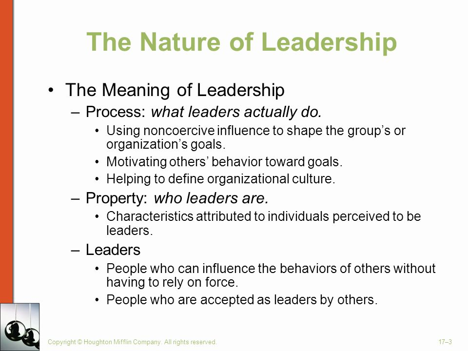 Managing Leadership and Influence Processes - ppt video
