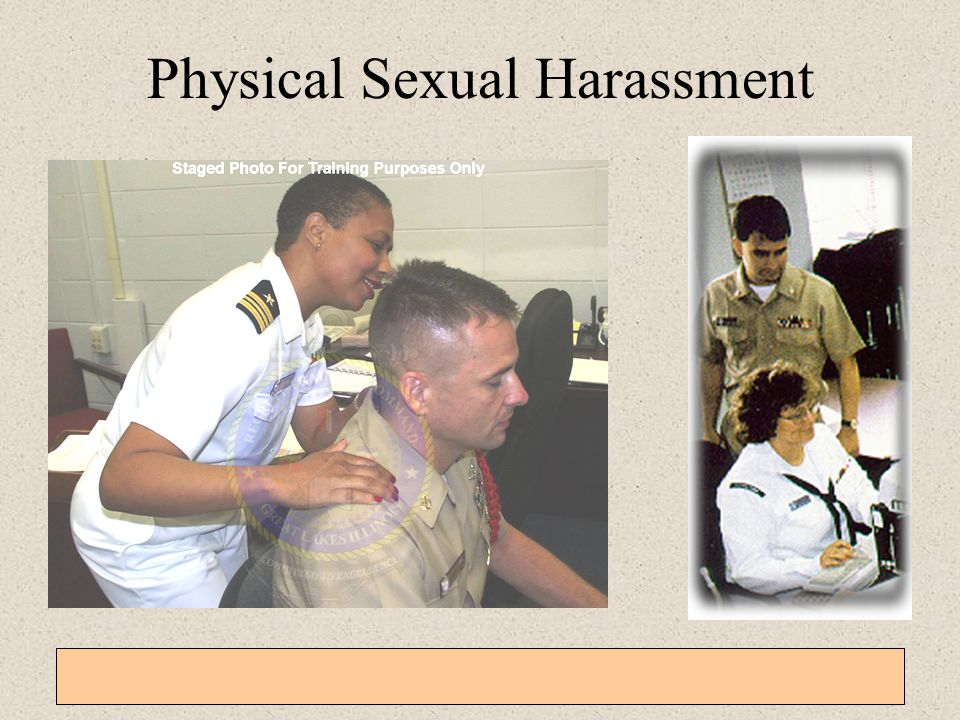 Navy sexual harassment training