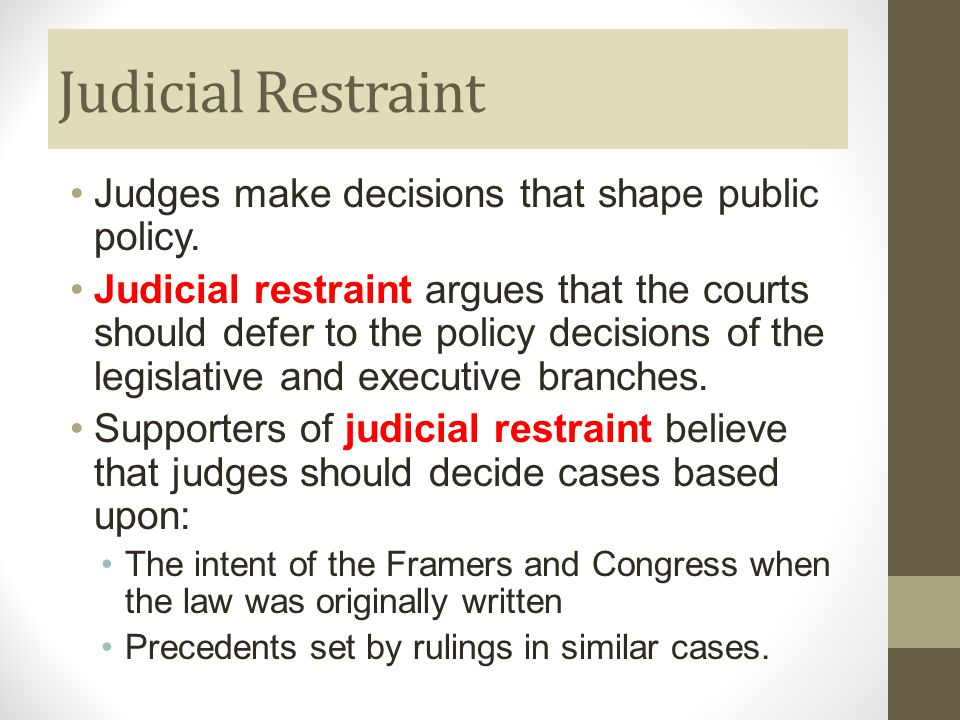 The Judicial Branch Chapter Ppt Video Online Download