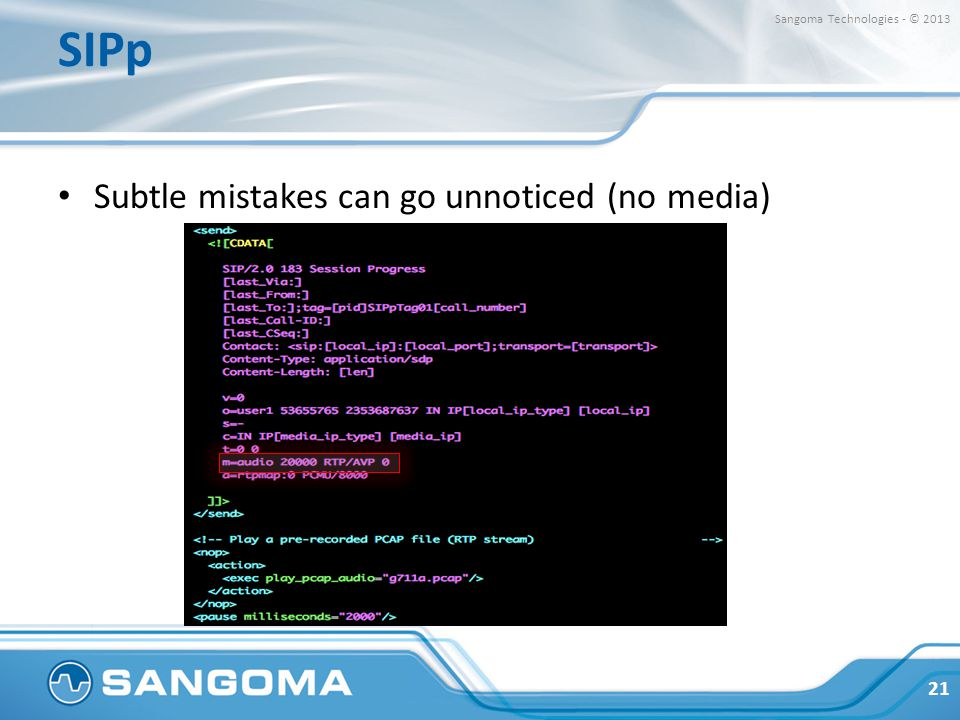 SIP Testing w/ FreeSWITCH - ppt video online download