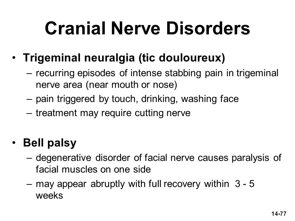 Cranial Nerve Disorders
