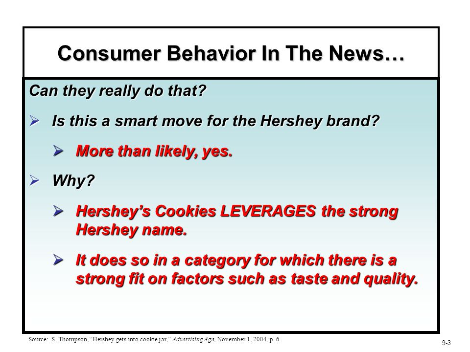 learning and memory in consumer behaviour pdf