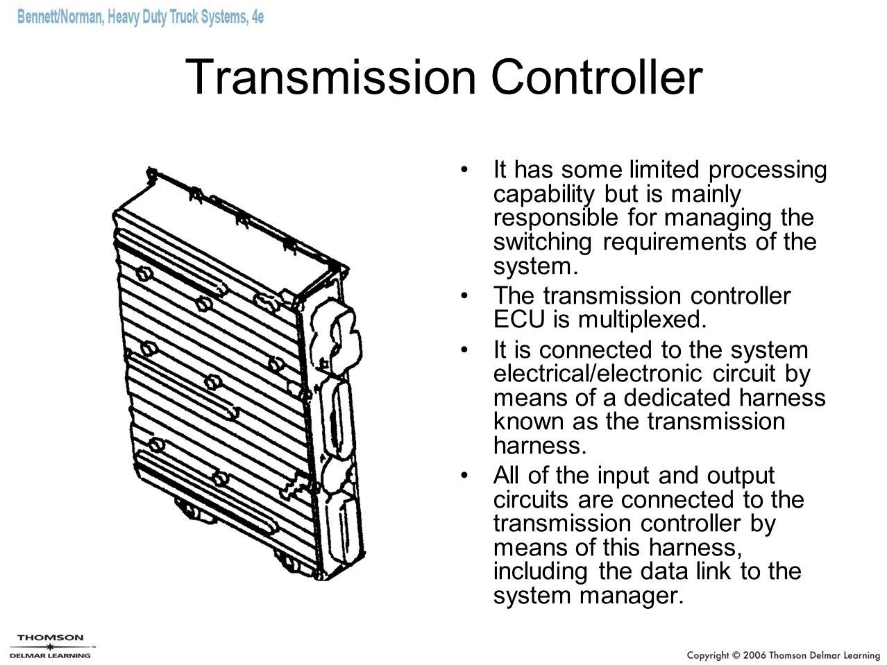 Zf Ecu Wiring Diagram Trusted Electronically Automated Standard Transmissions Ppt Download 4runner Schematic