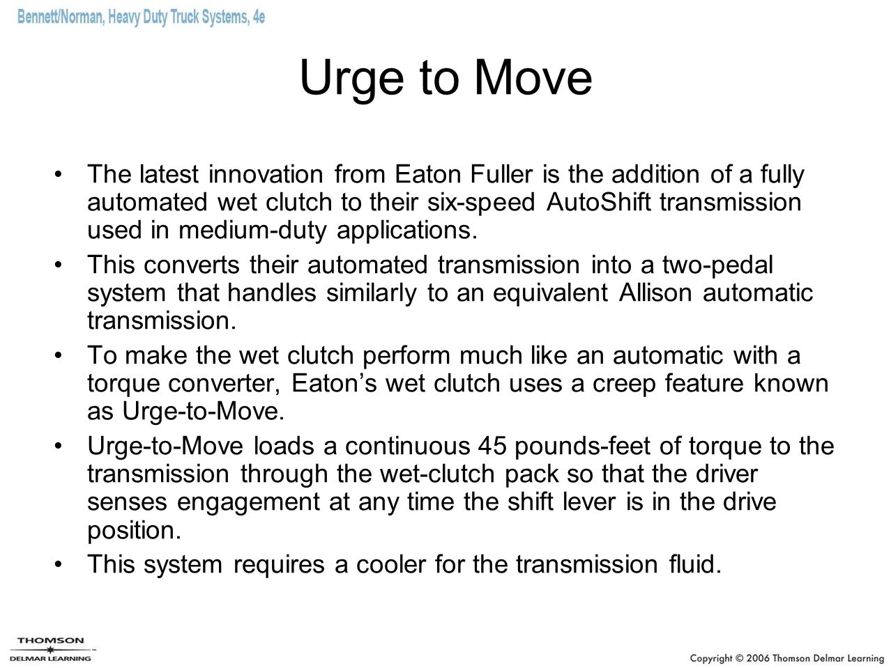 Electronically Automated Standard Transmissions - ppt download