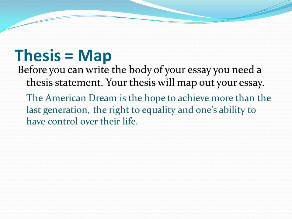 american dream essay thesis american dream essay thesis essay on the