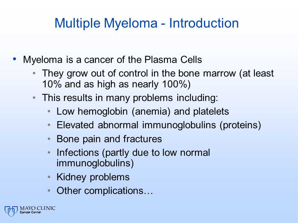 Multiple Myeloma - Introduction