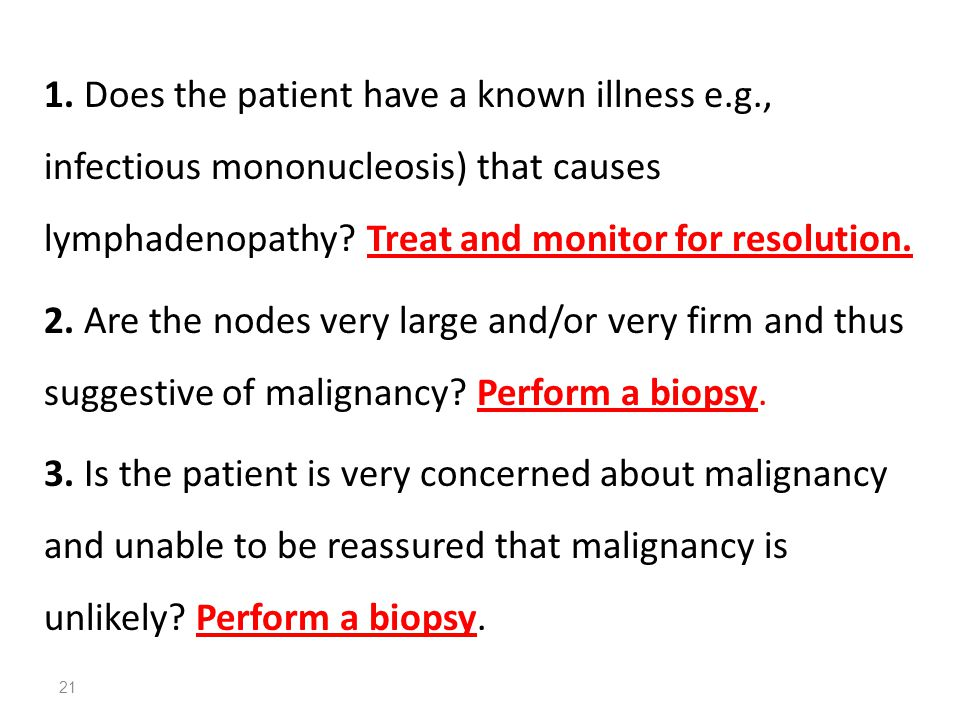 1. Does the patient have a known illness e. g