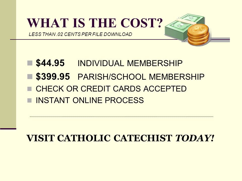 WHAT IS THE COST $44.95 INDIVIDUAL MEMBERSHIP