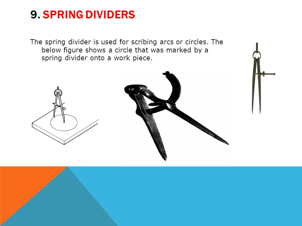 9. Spring dividers