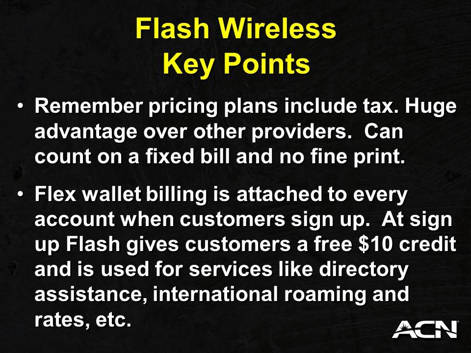Flash Wireless Customer Training - ppt download