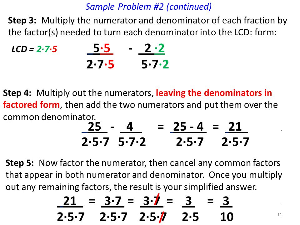 Sample Problem #2 (continued)