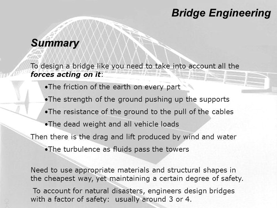 Bridge Engineering Summary