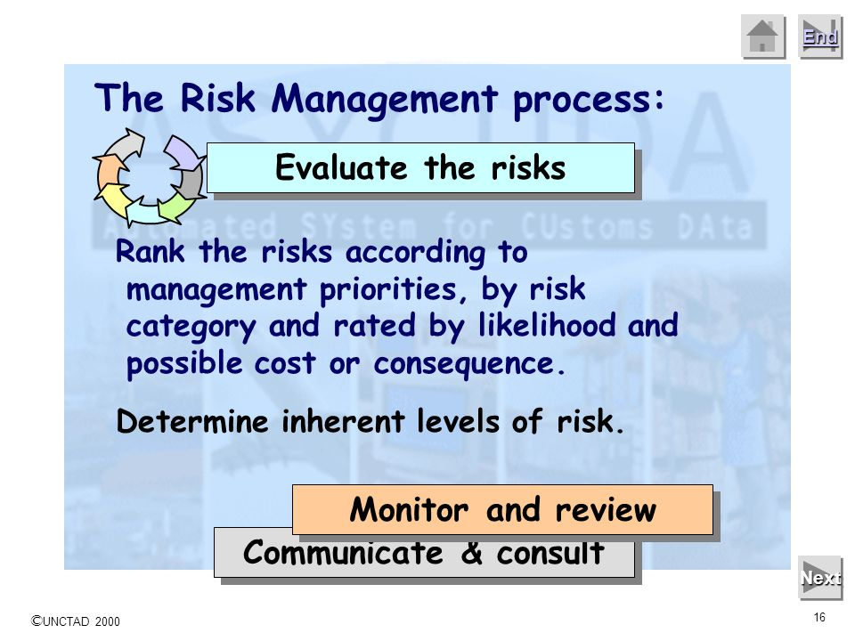 The Risk Management process: