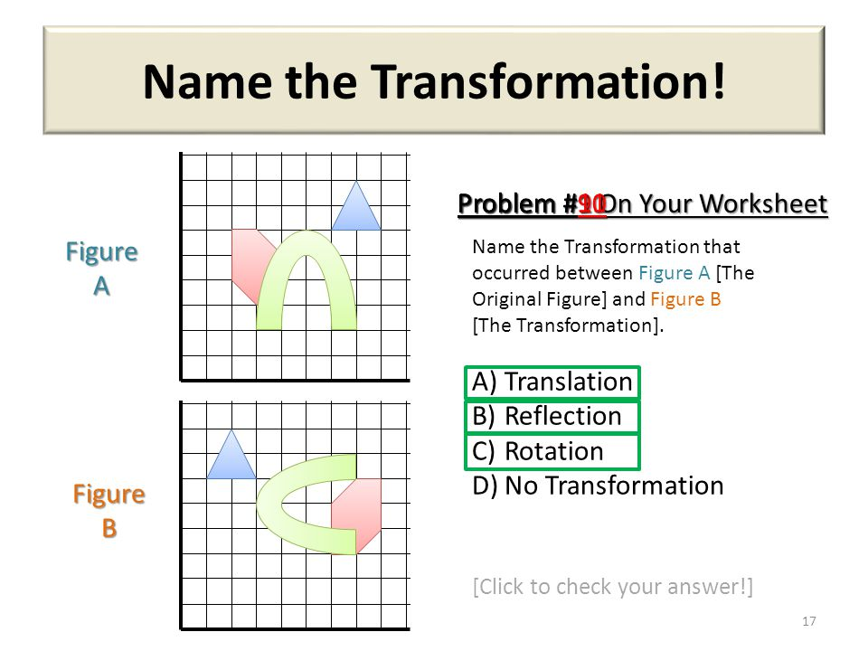 Printable Worksheets reflections rotations and translations worksheets : Translate, Rotate, Reflect! - ppt video online download