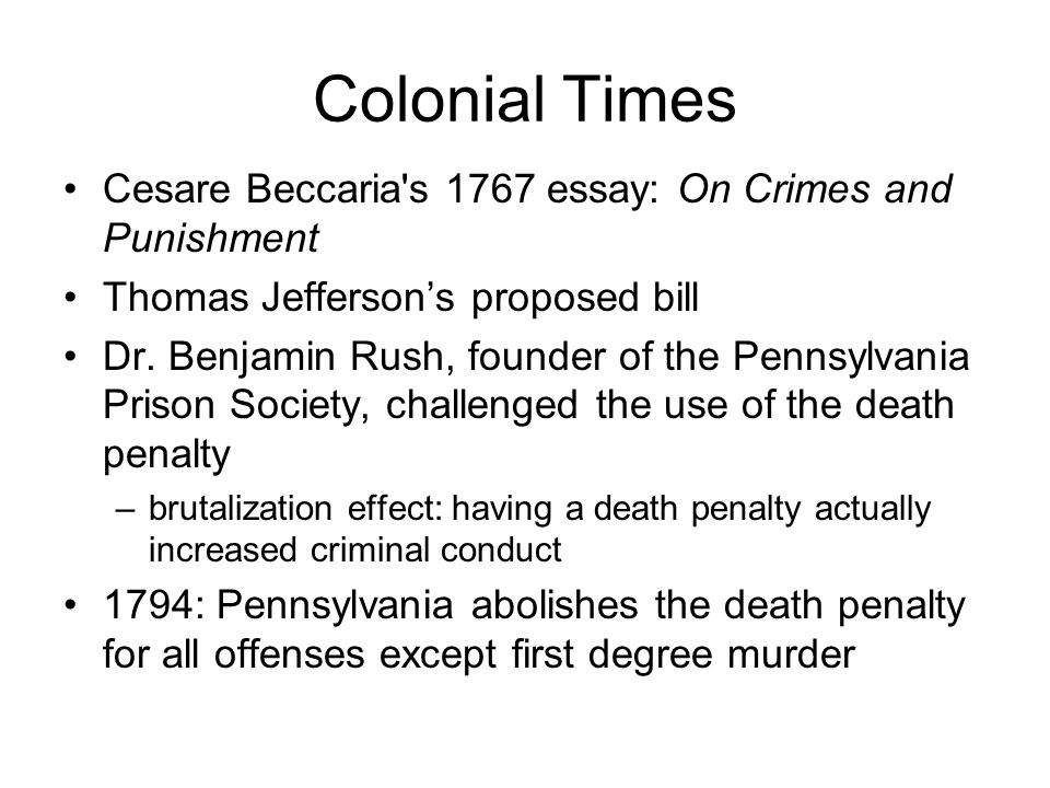 capital punishment ethics essay