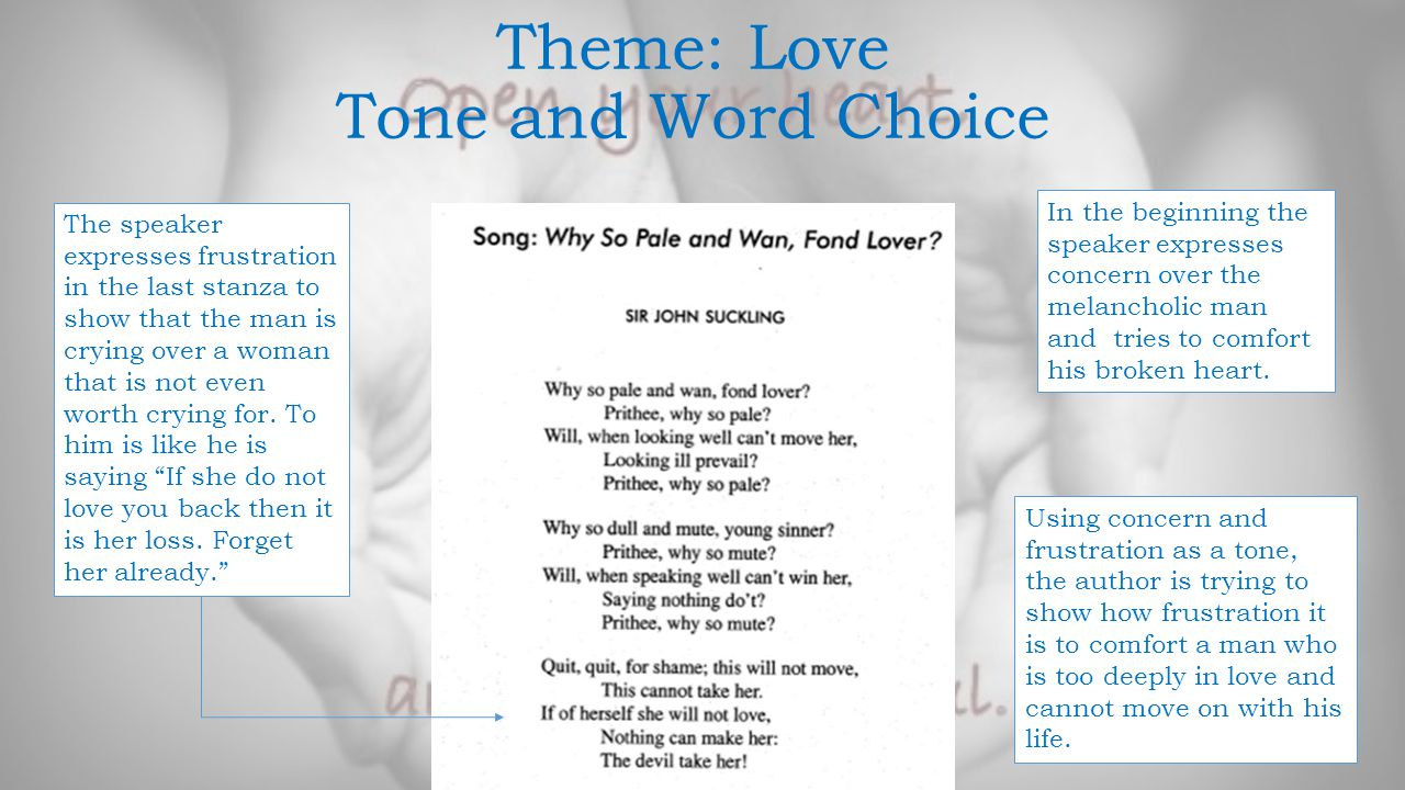 Poetry Theme Project: Cruel Love - ppt video online download