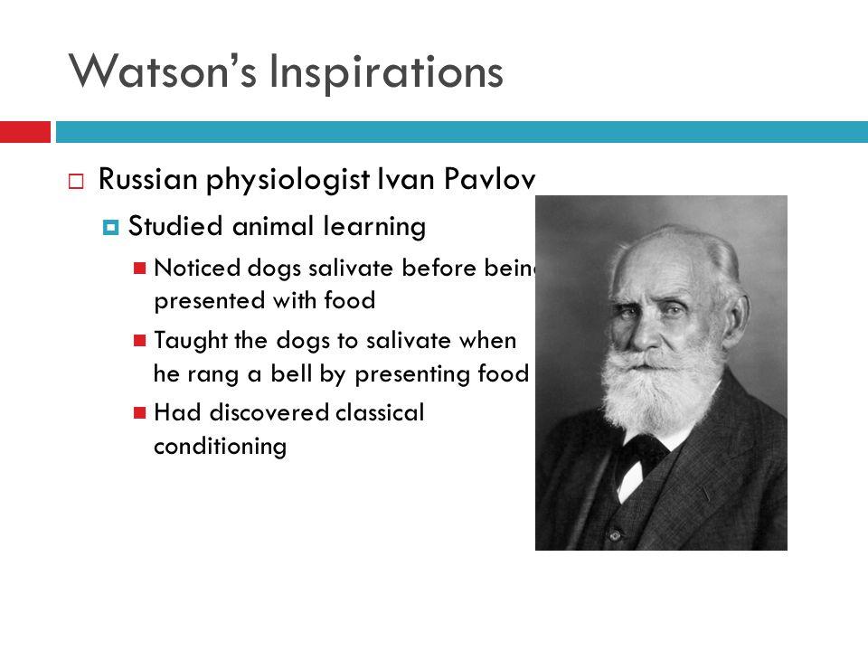 jb watson theory