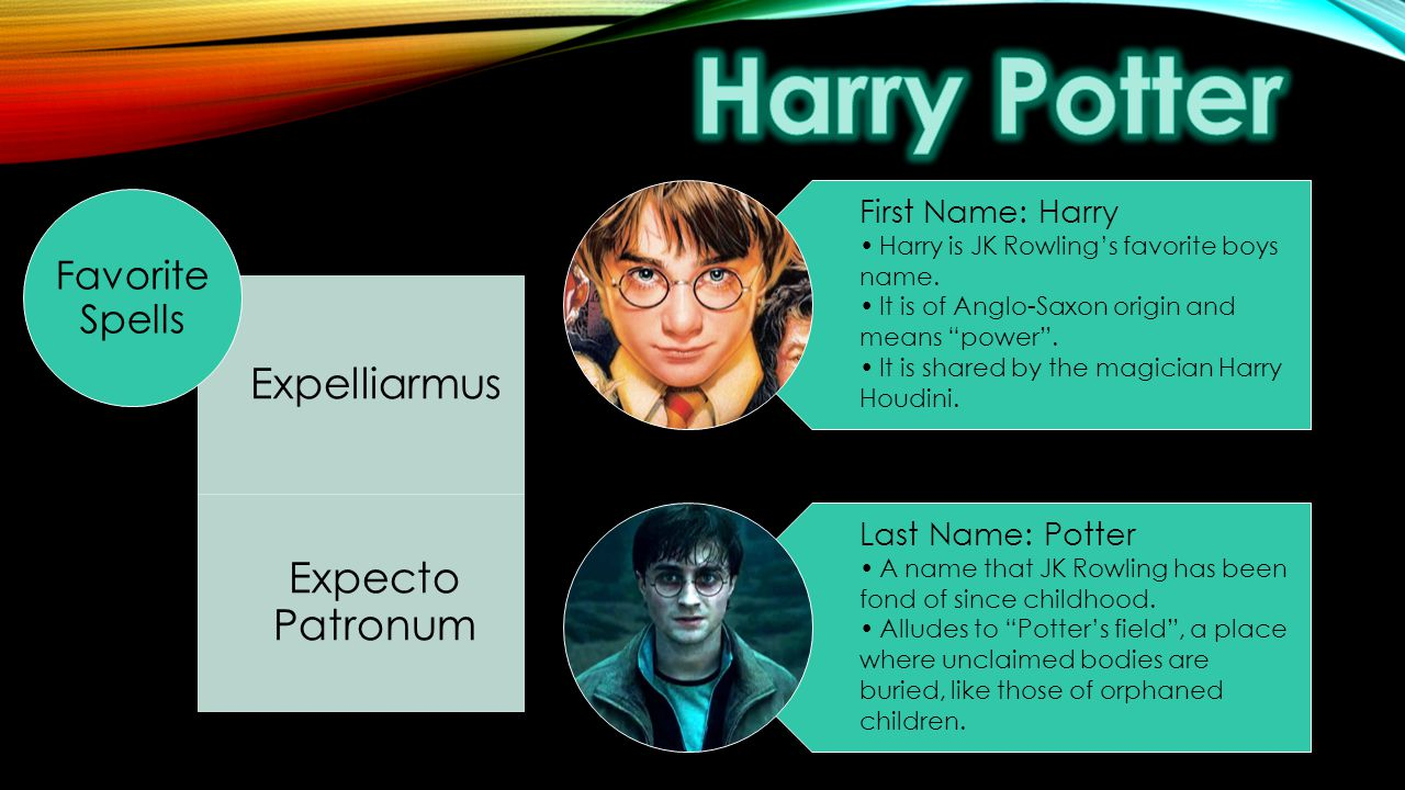 Word Play in Harry Potter - ppt video online download