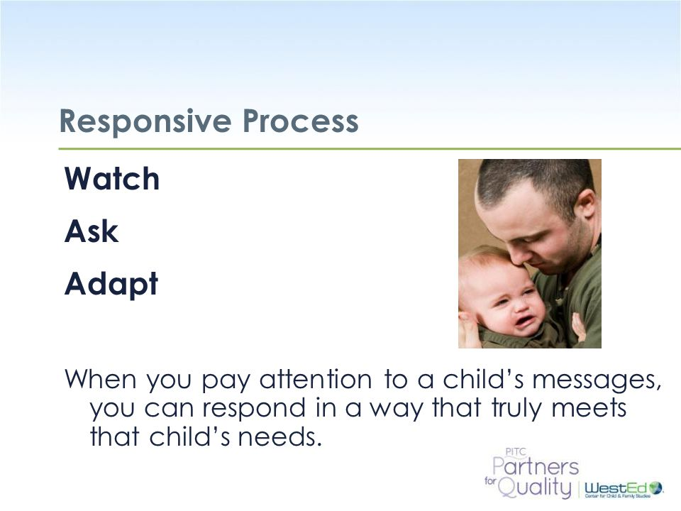 Responsive Process Watch Ask Adapt
