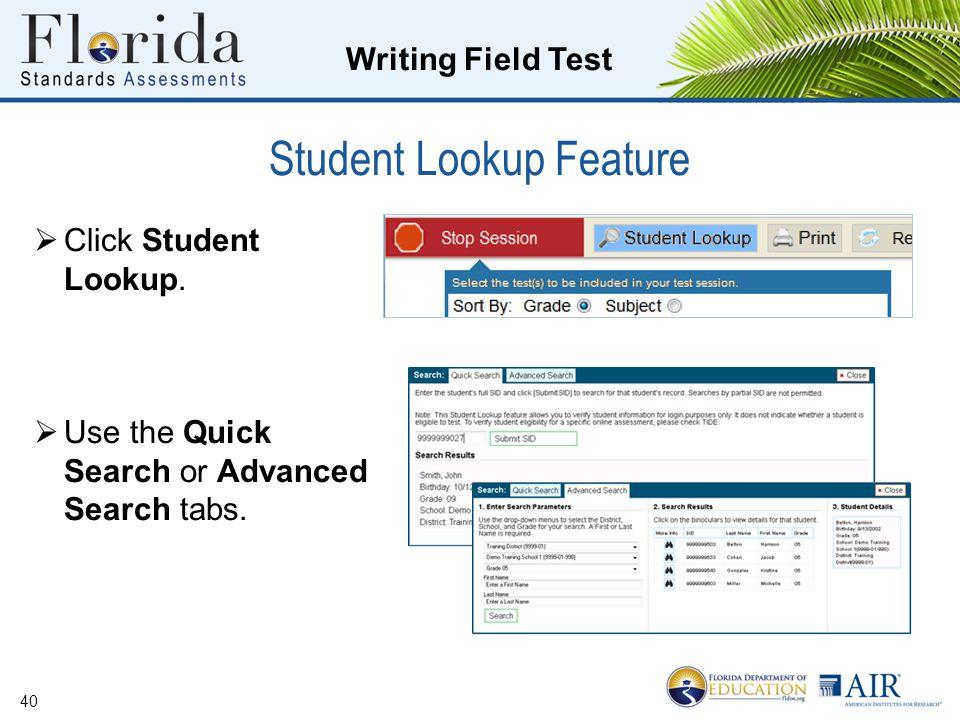 Writing Field Test School Assessment Coordinator Training - ppt download