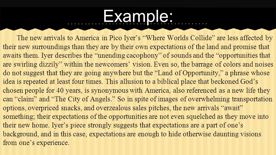 where worlds collide pico iyer essay