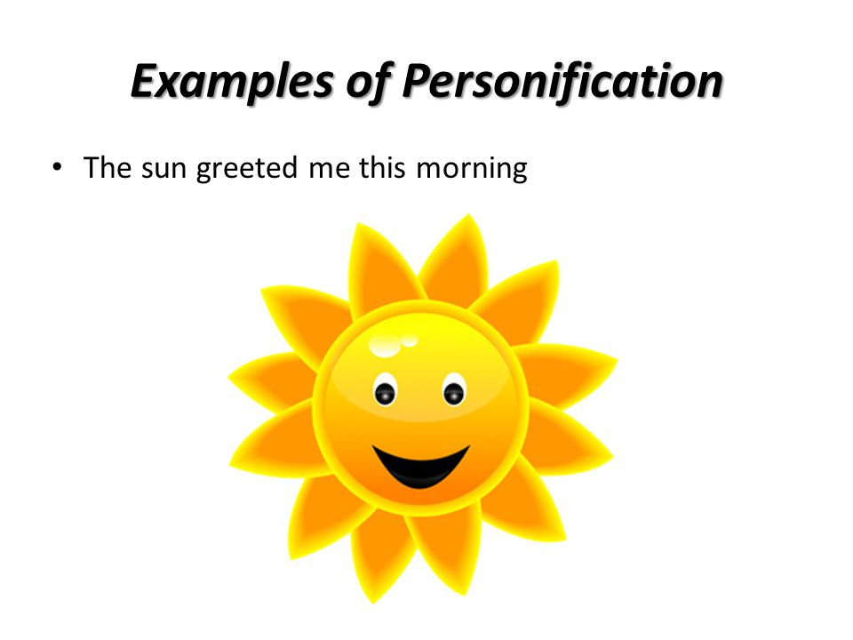 Personification Ppt Video Online Download