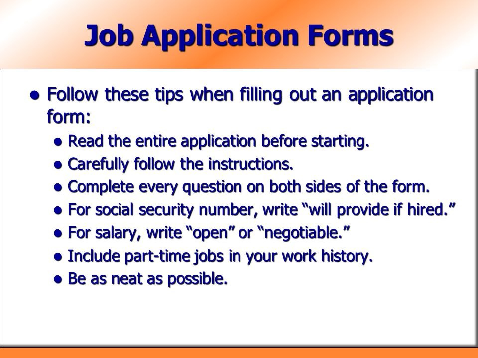 Chapter 16 Applying For Jobs Ppt Video Online Download