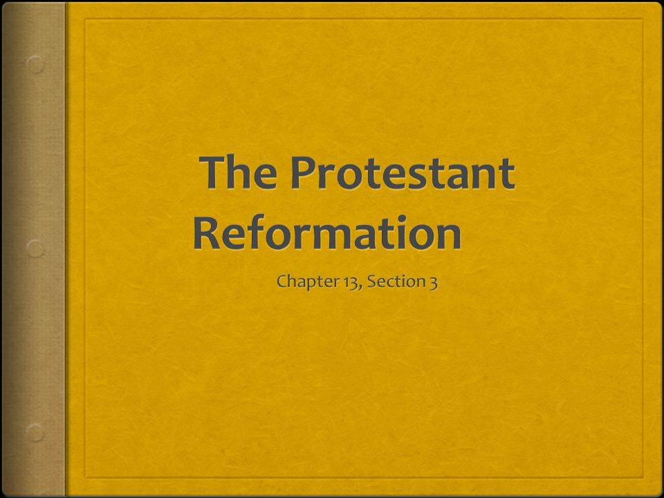 dbq protestant reformation The protestant reformation refers to the period in the 15th century, when some christians broke eckhart was not directly related to the reformation however, his radical sermons which spoke of.