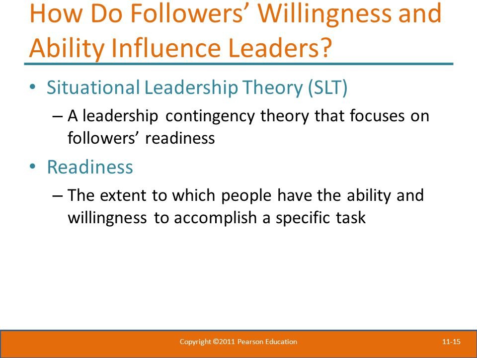 How Do Followers' Willingness and Ability Influence Leaders