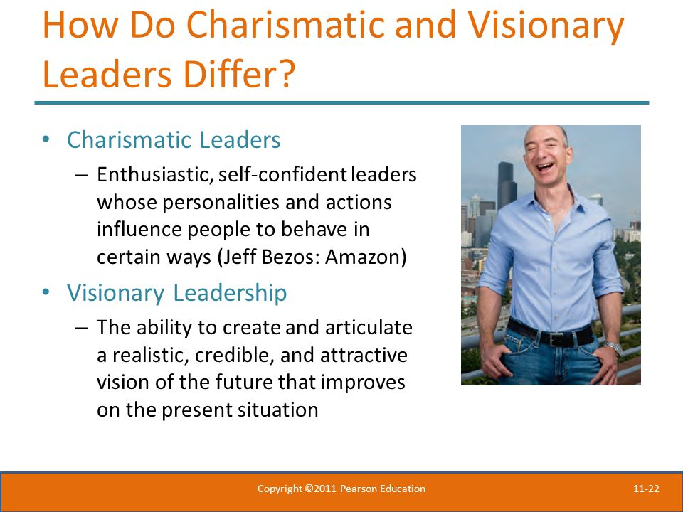How Do Charismatic and Visionary Leaders Differ