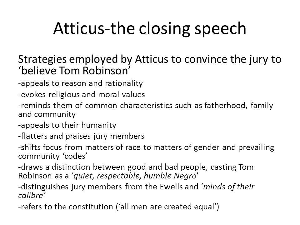 atticus speech