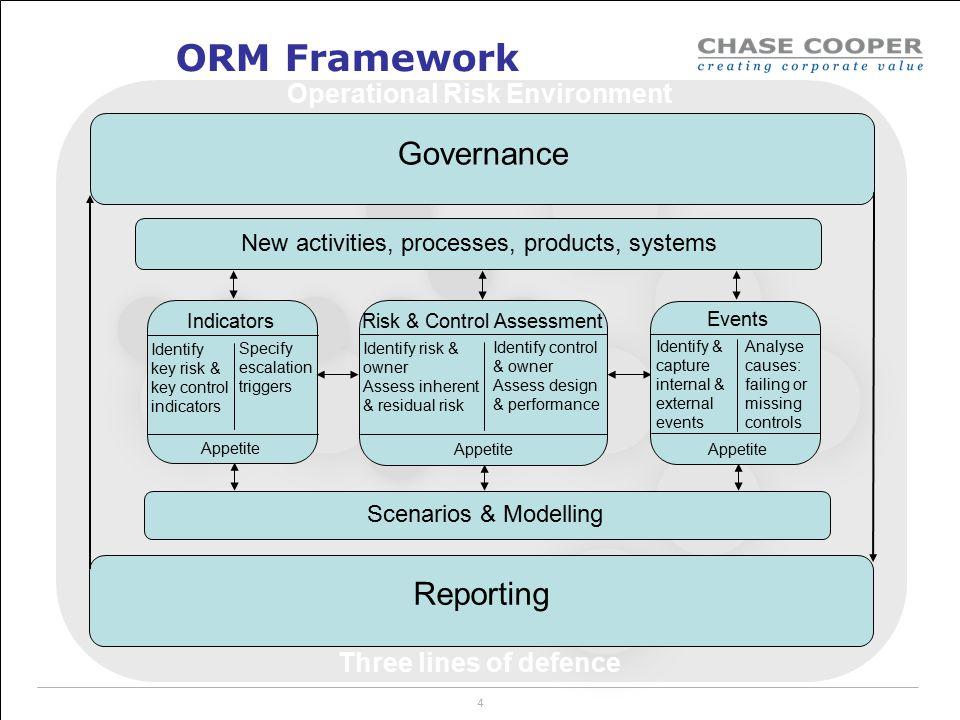 Operational Risk Environment