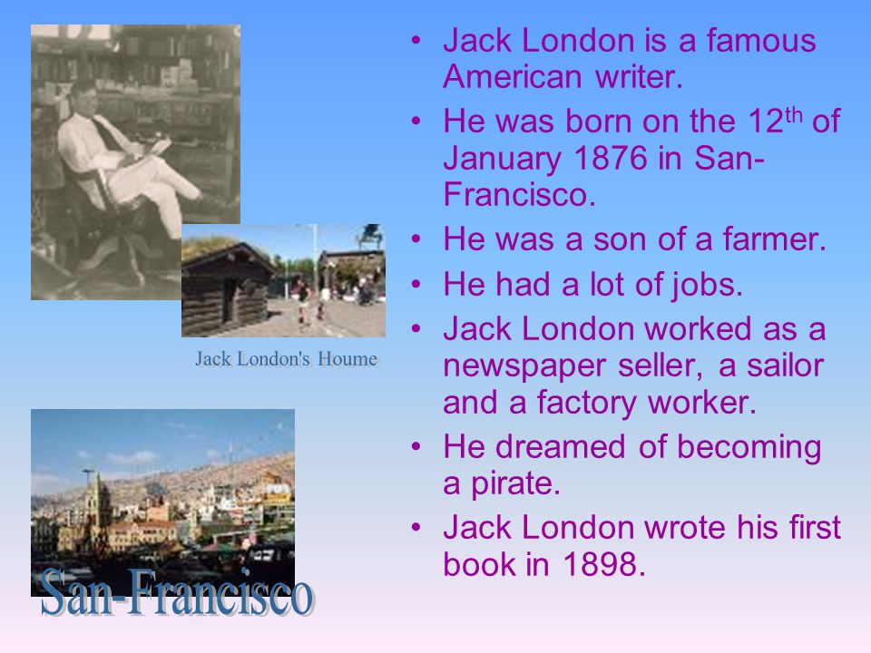 Jack London s Houme San-Francisco