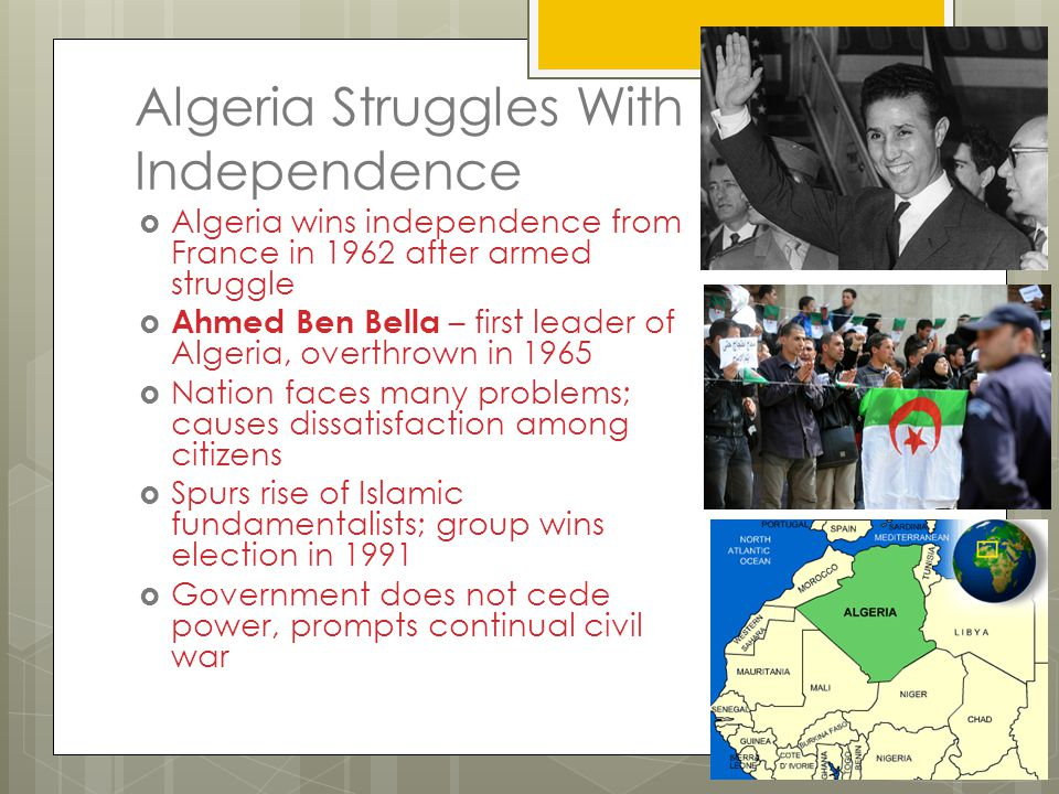 Algeria Struggles With Independence