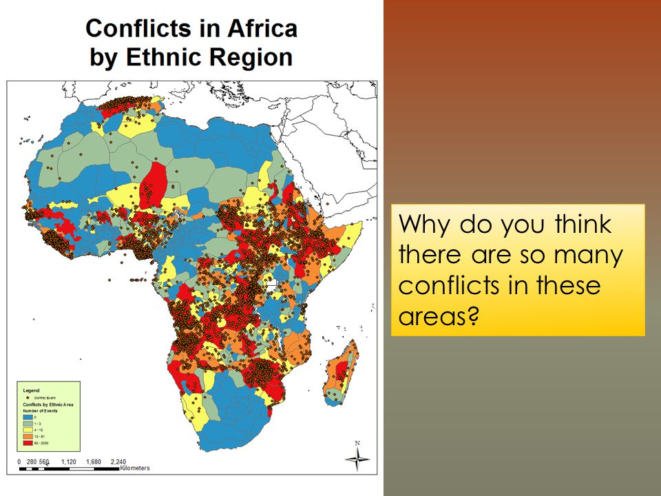 Why do you think there are so many conflicts in these areas