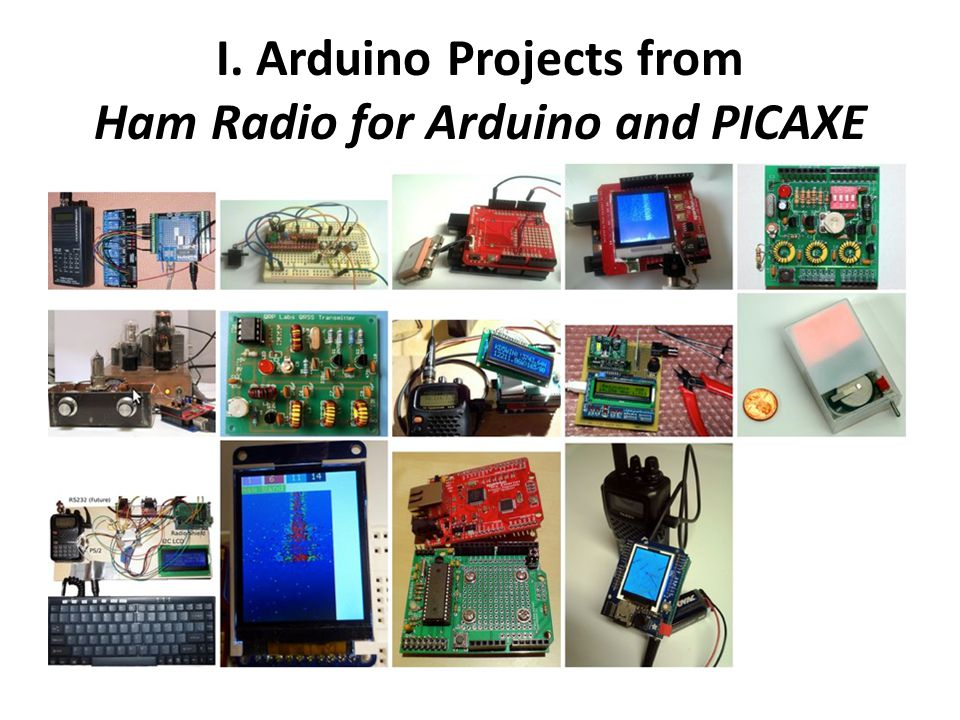Ham Radio and Modern Micros Arduino, Picaxe and Beyond - ppt