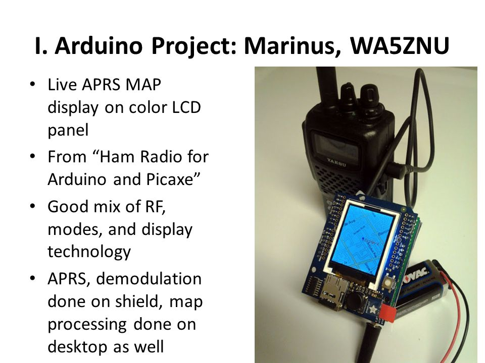 Ham Radio and Modern Micros Arduino, Picaxe and Beyond - ppt video