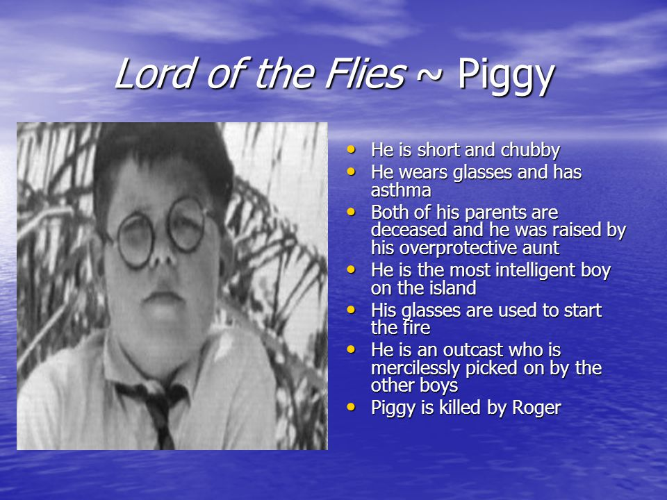 what does roger symbolize in lord of the flies