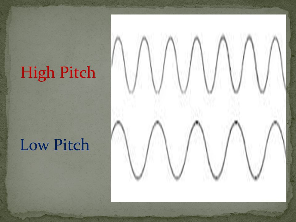 High Pitch Low Pitch