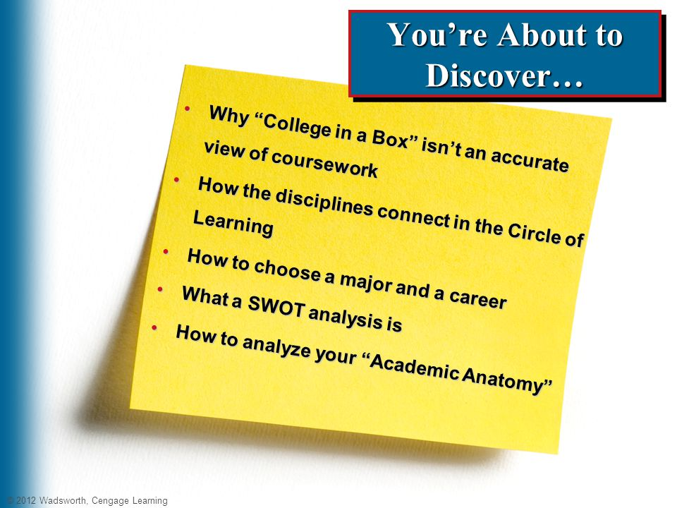 choosing a college major and career 2 youre