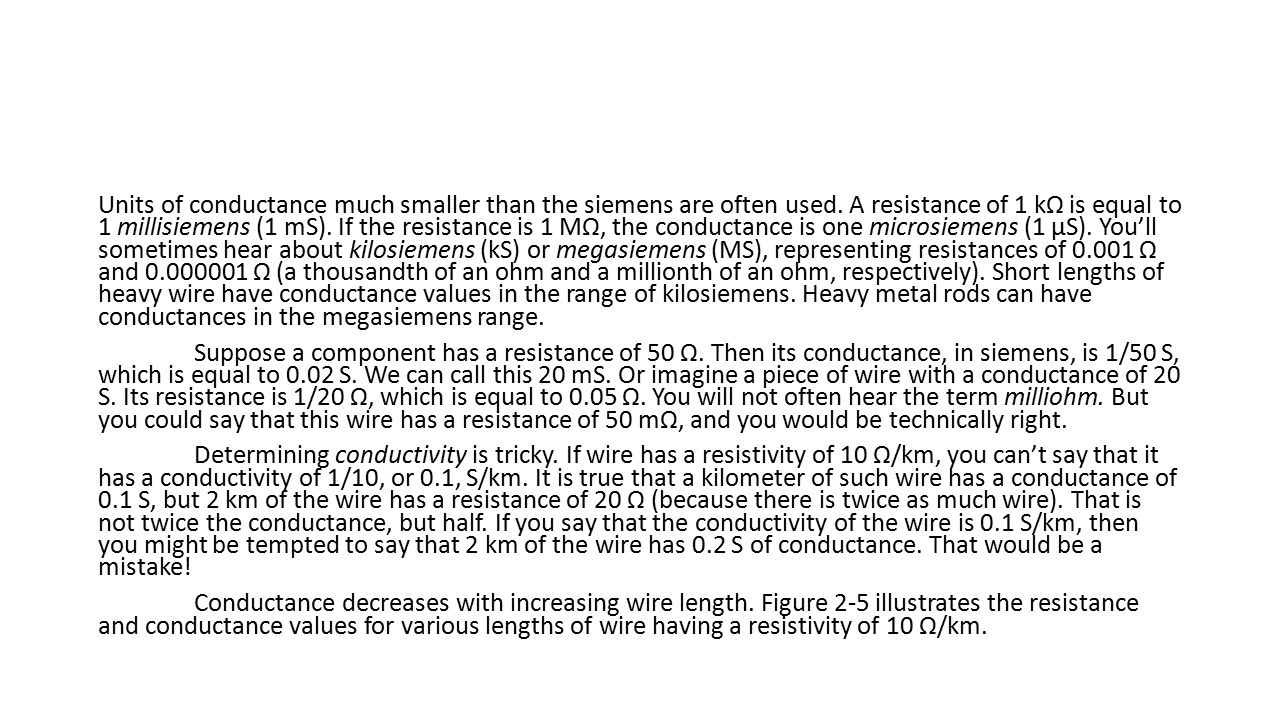 Electrical Units. - ppt download