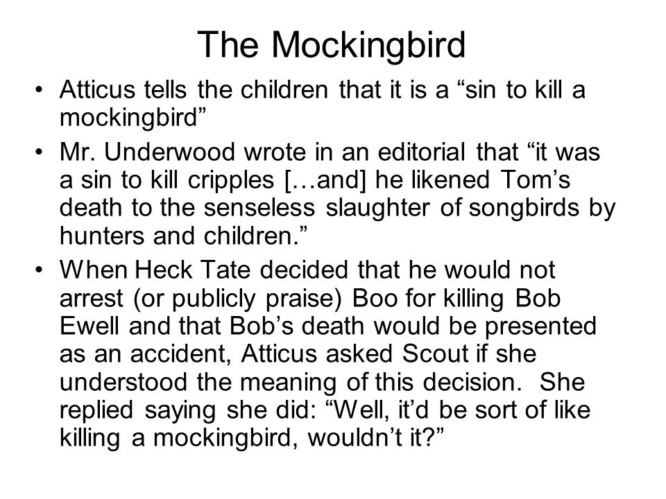 symbolism in to kill a mockingbird essay To kill a mockingbird symbolism essay to kill a mockingbird essay question describe an important symbol or symbols in the text you have studied and analyse how the symbol helped to develop ideas in the text.