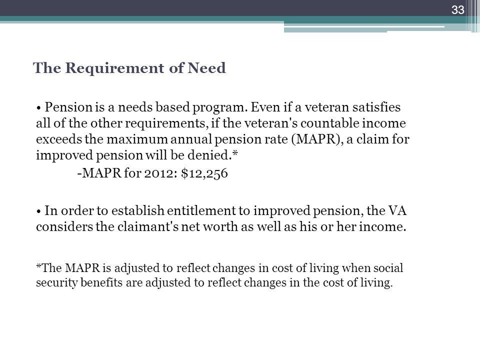 Veterans Benefits Overview - ppt download