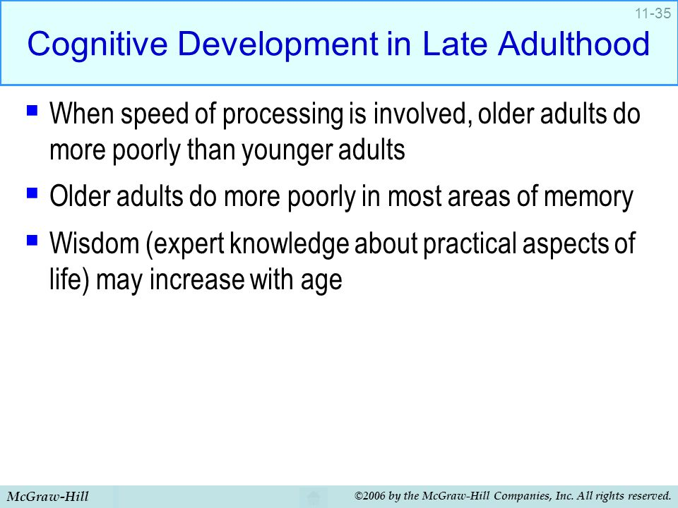 Cognitive development in adults picture
