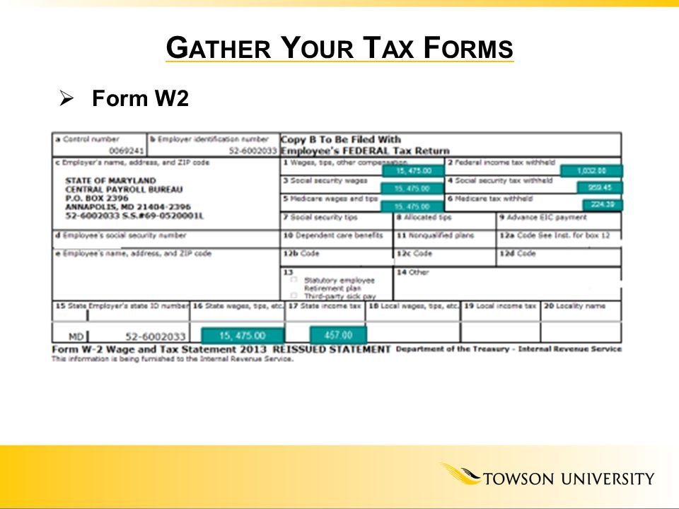 International Students A Basic Overview Of Federalstate Taxes Ppt
