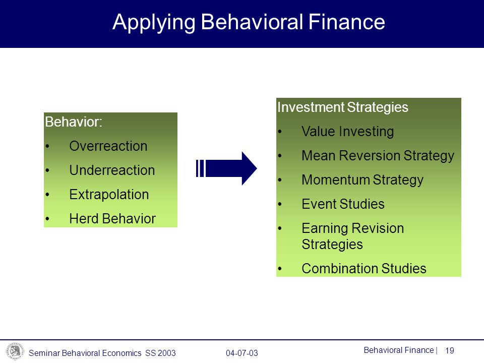 behavioral finance a challeng to Think about all the elements you need to be a successful index investor first, you need to choose the right mix of stocks and bonds, and to adjust that mix as you approach retirement.