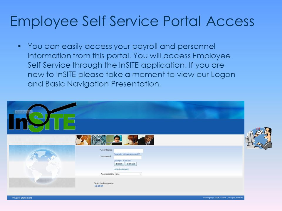 Employee Self Service Portal Access