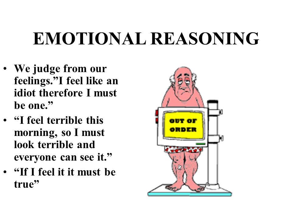 Emotional reasoning